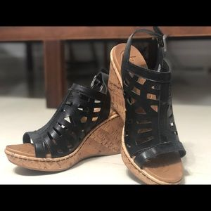 BOC lightweight wedge sandal heels